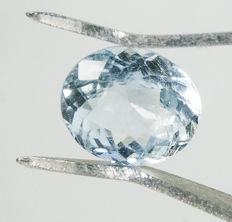 Aquamarine - 2,33 ct - No Reserve Price