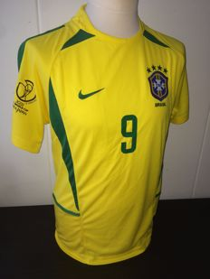 Brazil Ronaldo World Cup 2002 shirt.
