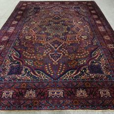 470 x 305cm large rare antique Persian palace Yazd carpet, circa 1930