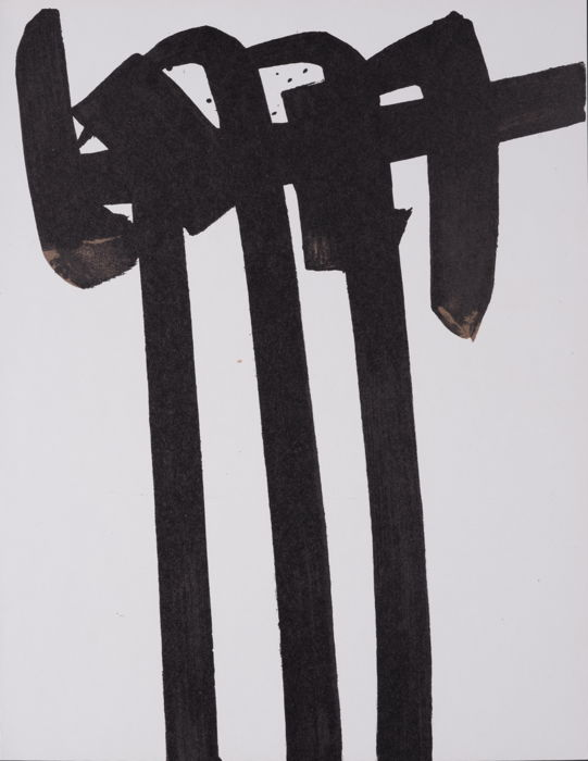 Pierre Soulages - Lithographie N° 28