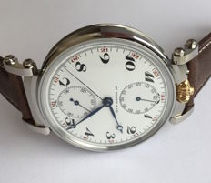 Henry Moser chronograph - marriage watch - 1900 .