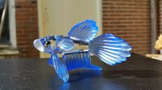 Swarovski - Blue Siamese fighting fish