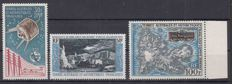 French Southern and Antarctic Lands airmail - Yvert 8, 9, 20