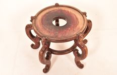 A wood stand/table - China - early 20th century