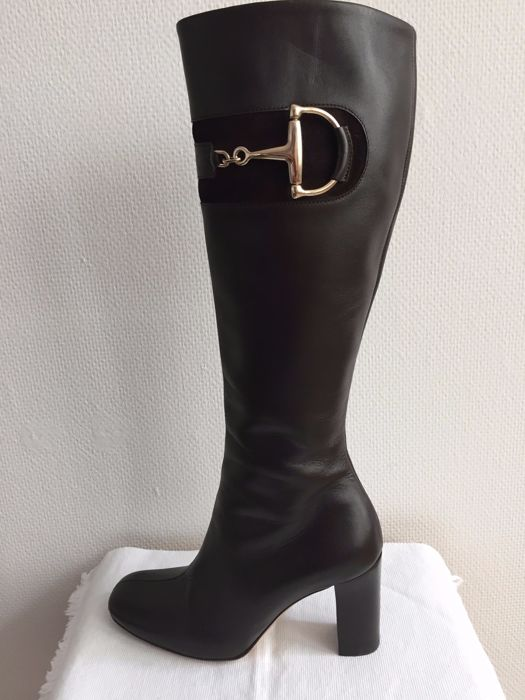 Gucci - Long Brown Boots (217204)