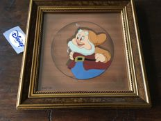 Disney, Walt - Limited edition cel in frame - Portrait Gallery series - Happy - Snow White and the Seven Dwarfs (1997)