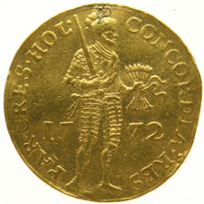 Holland - Gold ducat 1772 - gold