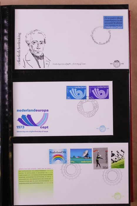 The Netherlands 1964/2000 – Batch of First Day Covers and covers in 13 albums