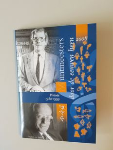 Netherlands - Holland Coin Fair commemorative set 2008 'Muntmeesters zilver' (Coin masters silver)