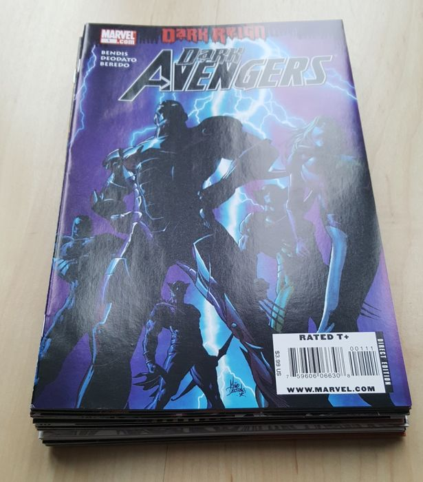 Marvel Comics – Dark Avengers Vol 1 – Complete Set – Issues #1-16 + Annual #1 – x17 SC – (2009/2010)