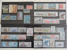French Southern and Antarctic Lands 1955/1984 – Stamp collection – Yvert betweeen no. 1 and 76, Airmail between no. 1 and 85