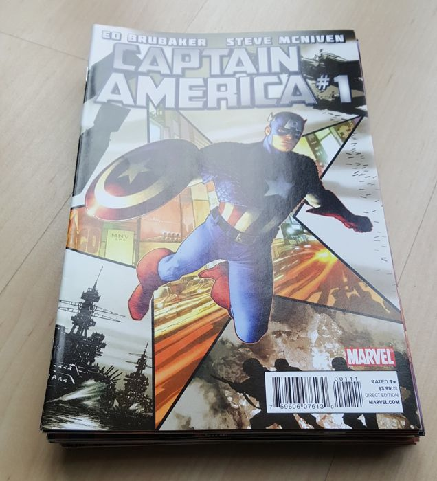 Marvel Comics – Captain America Vol 6 – Complete Set – Issues #1-19  - x19 SC – (2011/2012)