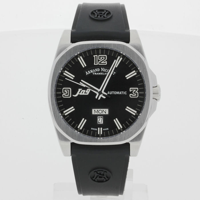 Armand Nicolet J09 Day & Date Automatic 9650A-NR-G9660