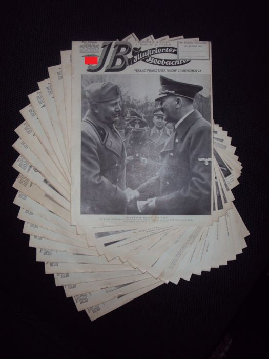 NSDAP; Illustrierter Beobachter - 20 issues - 1942
