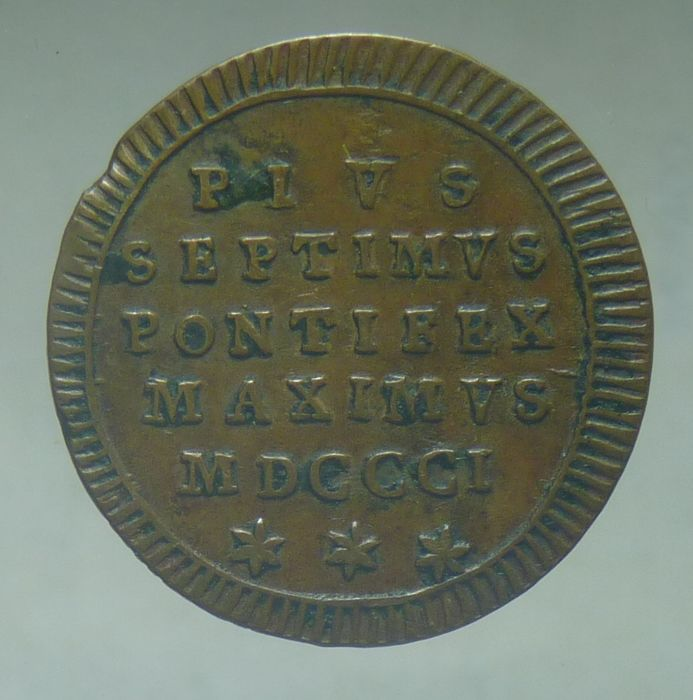 Papal State - Farthing 1801 - Rome, Pius XII