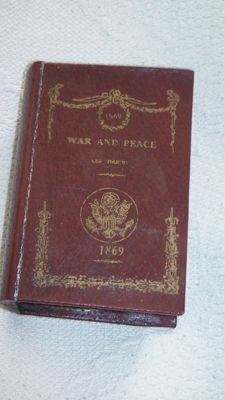 """Book objects; Book simulant of Leo Tolstoy's """"War and Peace"""" - 2nd half 20th century"""