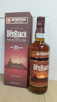 Benriach Authenticus 25 years old - OB