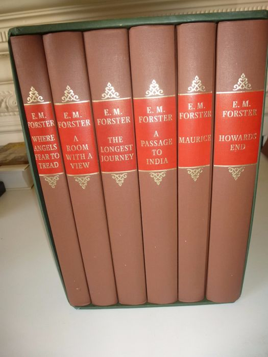 E  M Forster - The Folio edition of the works of E M Forster - 6 volumes - 1996
