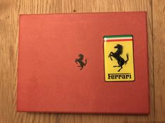 Original Ferrari calfskin leather wallet 11.5 cm x 16 cm - c. 1998