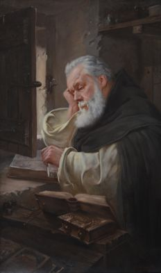 C. Formilli (XIX-XX) - The Student of the Monastery