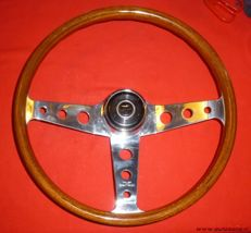 Wooden steering wheel for Alfa Romeo - 1963