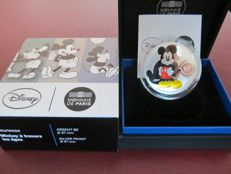 "France – €10, 2016 ""Mickey Mouse Disney"" in a case – silver."