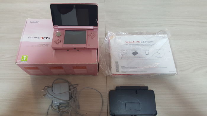 Nintendo 3DS Crystal Pink