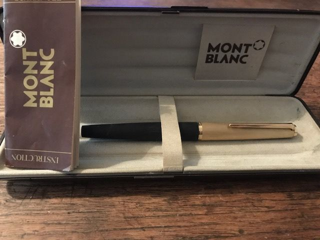 Rare 224 Mont Blanc (incl. original box and booklet)
