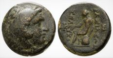 Greek Antiquity - Seleukid Kingdom. Seleukos II Kallinikos (246-226 BC). Æ16 (16mm; 4.60g) - RARE!