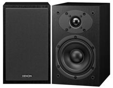 Powerful set compact MONITOR speakers by DENON