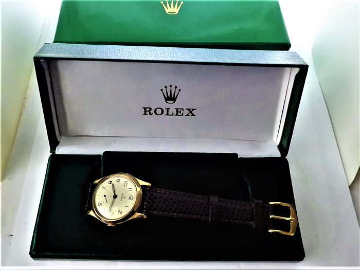 Rolex -  signed Gents swiss wrist watch. {date hallarked birmingham A-1950-51 {ref no 139}
