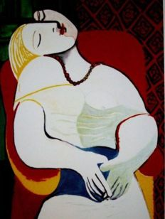 Pablo Picasso (after) -The Dream