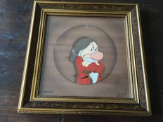 Disney, Walt - Limited edition cel in frame - Portrait Gallery series - Grumpy - Snow White and the Seven Dwarfs (1997)