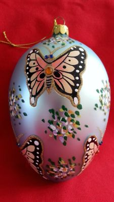 Joan River large butterfly bauble, rare.