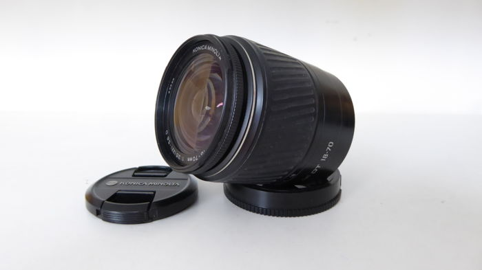 Konica Minolta 18-70 DT lens for Sony Digital