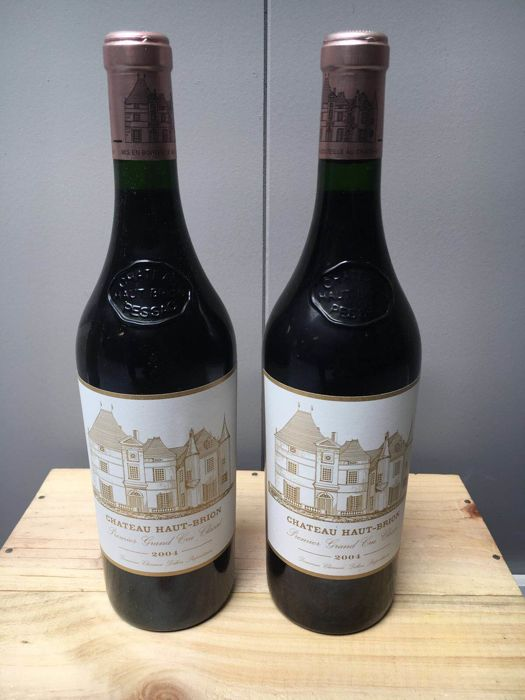 2004 Chateau Haut-Brion, Pessac-Leognan - 2 bottles (75cl)
