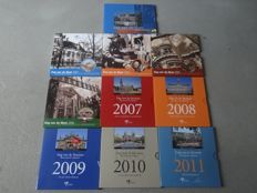 Netherlands - Day of the Coin sets 2002 to 2011 (10 sets in total)