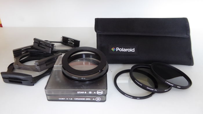 Polaroid filter set and Cokin filter set