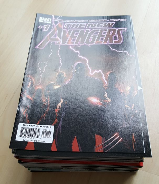 Marvel Comics – New Avengers Vol 1 – Complete Set – Issues #1-64 – X64 SC – (2004/2010)