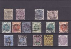 Great Britain 1888/1903 - Official stamps Queen Victoria and King Edward VII - a small selection