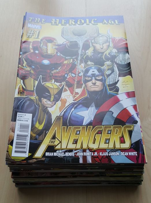 Marvel Comics – Avengers Vol 4 – Complete Set – Issues #1-34 - X34 SC – (2010/2012)