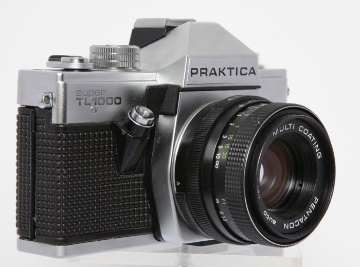 Praktica super tl with lenses catawiki