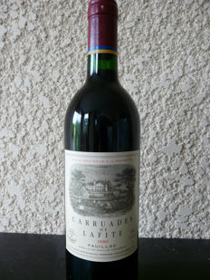 1990 Chateau Lafite Rothschild 'Carruades de Lafite', Pauillac - 1 bottle (75cl)
