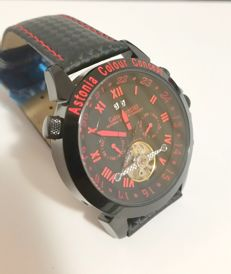 Calvaneo 1583 - Red Carbon Racer automatic - men's wristwatch - 2017