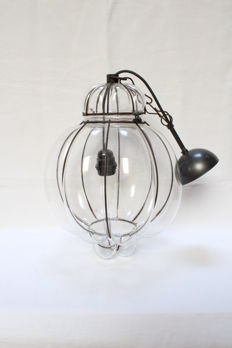 Beautiful Venetian lamp - Italy - 2nd half 20th century