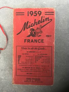 Guide Michelin - 1959
