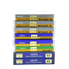 8 Hoya filters 62 mm - new (1741)