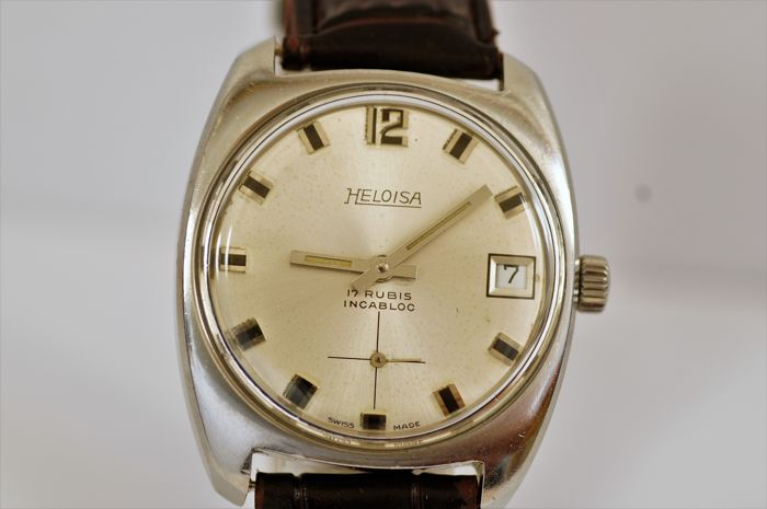 Heloisa Vintage. - Swiss men's wristwatch -  1970s.