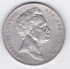 Netherlands - 2½ guilder coin 1840 Willem I - silver