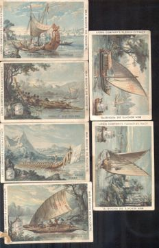 Chromo Liebig - 27 cards - Germany / Dutch / French (1887 / 1904)